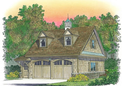 2 Car Garage With Living Quarters Cape With Attached regarding 3 Car Garage With Living Quarters Above