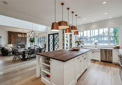The Maxwell: Main Floor Open Concept Living With Quietly inside Modern Open Farmhouse Plans