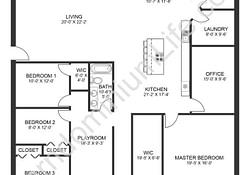 The Seven Best 4 Bedroom Barndominium Floor Plans With with regard to Barndominium Floor Plans With Loft