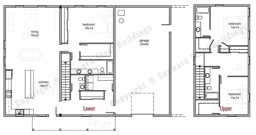 Barndominium Floor Plans With Loft   Review Home Co regarding Barndominium Floor Plans 5 Bedroom