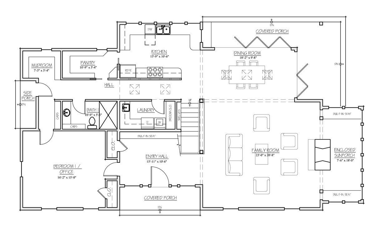 Small Farmhouse Plans Old Farmhouse Floor Plans, Old House throughout Small One Level Farmhouse Plans