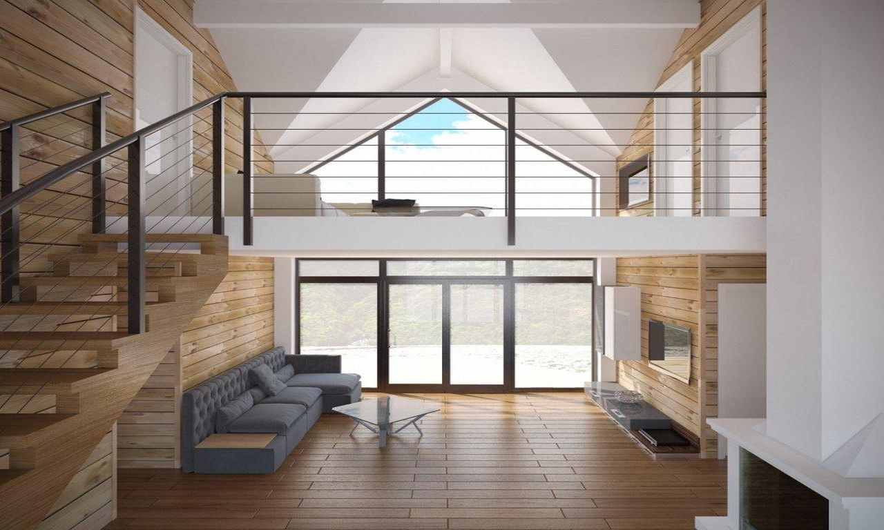 Affordable Home Modern Small House Plans One Story Cottage within Small Farmhouse Plans With Pictures