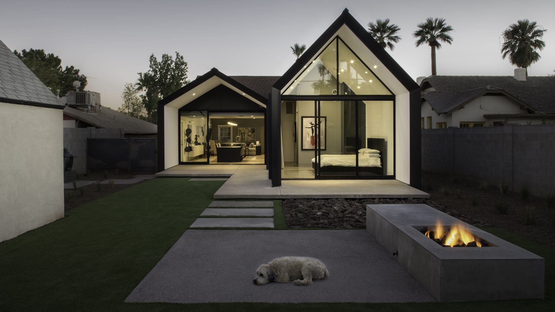 House Extensions: Amazing Small Home Renovation In Phoenix within Small Farmhouse Plans With Pictures