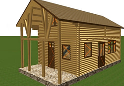 Wood Garage Building Kits Pole Garage Kits, Wood Frame in Do It Yourself Pole Barn Plans