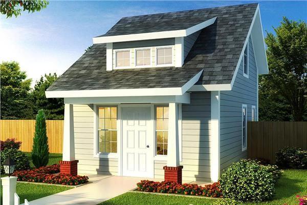 Tiny House Plans & Floor Plans | The Plan Collection within Small One Level Farmhouse Plans