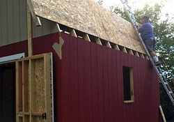12×16 Tall Barn Style Gambrel Roof Shed Plans in Shed Roof Pole Barn Plans