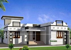 1000 Sq Ft 3Bhk Modern Single Floor House And Plan - Home throughout Modern Farmhouse Plans 1000Sqft