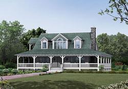 One Story Farmhouse Plans Country Farmhouse Plans With intended for Old Farmhouse House Plans