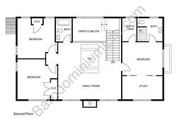 5 Great Two Story Barndominium Floor Plans inside 40X60 Barndominium Floor Plans