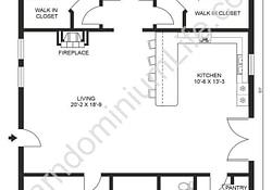 Inspiring Open Concept Barndominium Floor Plans In 2020 pertaining to Barndominium Floor Plans With Basement