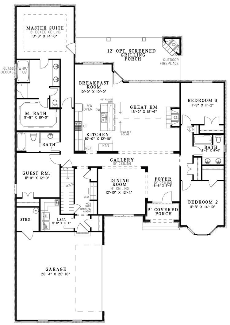 The House Designers' Design House Plans For New Home Market pertaining to Small Farmhouse Plans With Pictures