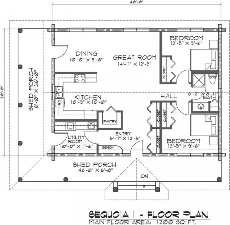 Unique Floor Plans For Small Homes Open Floor Plans - New for Small One Level Farmhouse Plans