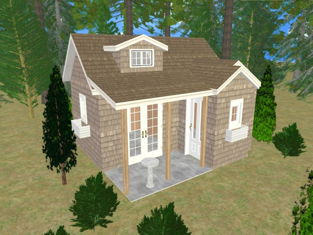 Storage Sheds Turned Into Houses Small Shed House Plans intended for Small Farmhouse Plans With Pictures