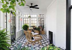 Delightful Modern Farmhouse Style Home Nestled In East regarding Modern Farmhouse Plans With Sunroom