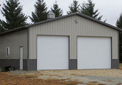 Dennis C. - 30' X 40 - Greiner Buildings Inc. pertaining to 40X40 Pole Barn Plans