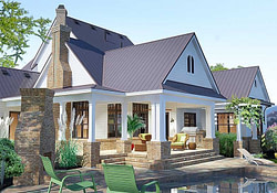 Crystal Falls Modern Farmhouse Floor Plan - David E with Modern Farmhouse Plans