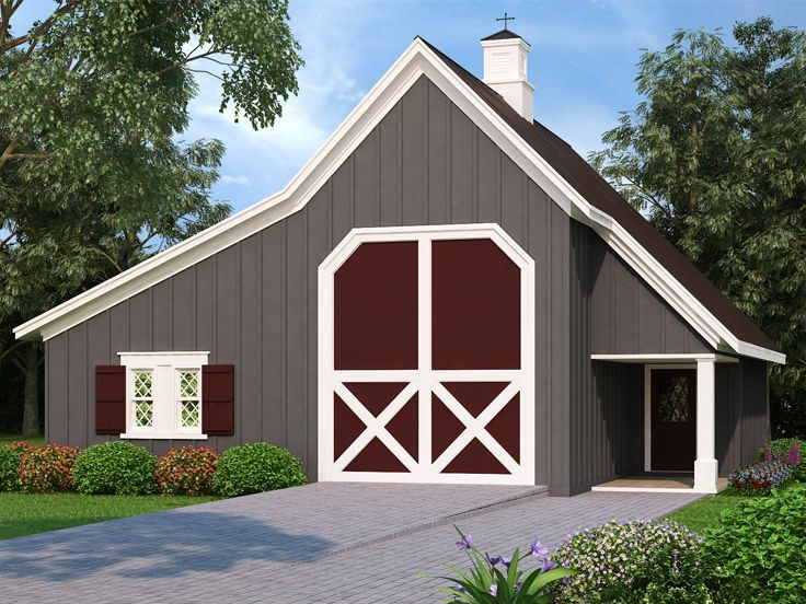Outbuilding Plans   Barn-Style Rv Garage With Storage pertaining to Duramax Garage With Living Quarters