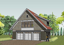 Simply Elegant Home Designs Blog: Another New Garage intended for Garage Apartment Plans Free