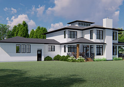Modern Farmhouse Glenlea-3401 - Robinson Plans with Modern Farmhouse Plans 2019