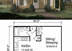 27 Adorable Free Tiny House Floor Plans - Craft-Mart throughout Small Farmhouse Floor Plan
