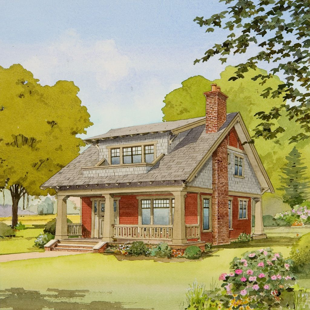 Live Large In A Small House With An Open Floor Plan within Small One Level Farmhouse Plans