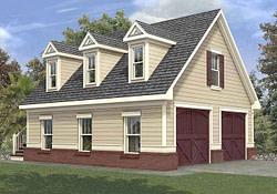 Plan 92050Vs: Efficient Garage Plan | Garage Apartment regarding Pole Barn Garage Apartment Plans