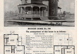Sears 1908 4Th Edition Pg34 | Brick House Plans, Victorian in Antique Farmhouse Floor Plans