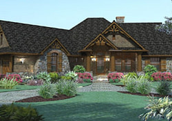 One Story House Plans One Story House Plans With Wrap throughout Small Farmhouse Plans One Story
