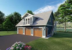 3 Car Garage Apartment Plan 90941 pertaining to 3 Car Garage Apartment Plans