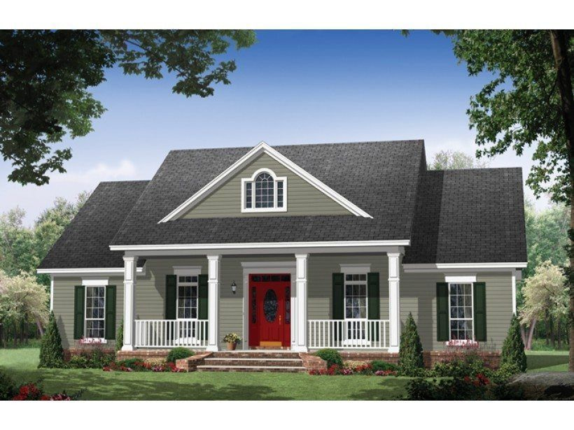 Lovely One Floor House Plans With Walkout Basement - New for Small One Level Farmhouse Plans