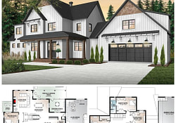 10+ Amazing Modern Farmhouse Floor Plans - Rooms For Rent Blog with regard to Modern Farmhouse Plans With Pictures