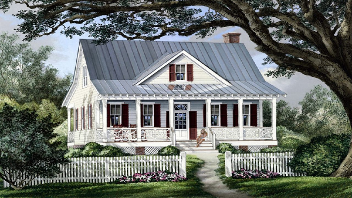 Cottage Country Farmhouse Plan French Country Farmhouse with Old Farmhouse Plans With Photos