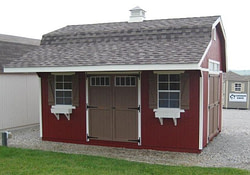 12X16 Storage Shed Plans Barn How To Build Diy for Pole Barn Plans With Material List
