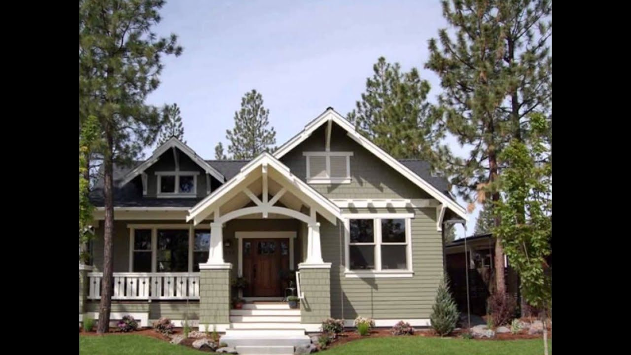 Bungalow House Plans | Modern Bungalow House Plans - Youtube in Small Farmhouse Plans With Pictures