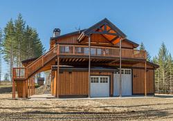 Oregon Garage With Living Quarters - Dc Structures In 2020 in Barn Style Garage With Living Quarters