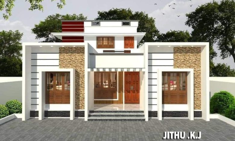 1600 Sq Ft 4Bhk Modern Two-Storey House And Free Plan pertaining to Modern Farmhouse Plans 1600 Sq Ft