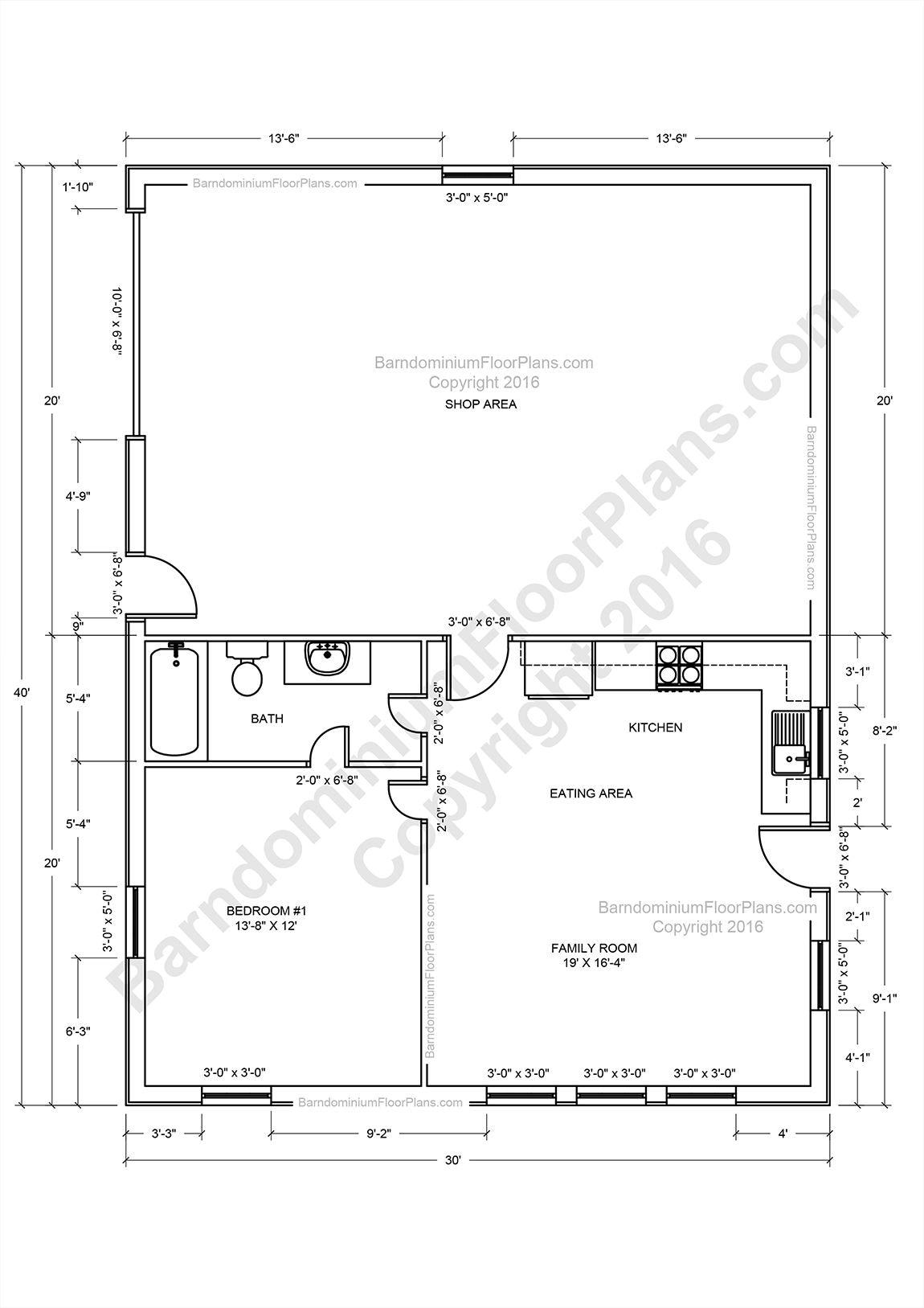 Barndominium Floor Plans, Pole Barn House Plans And Metal with regard to Barndominium Floor Plans 5 Bedroom