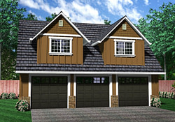 Three Car Garage With Apartment Plans Three Car Garage with regard to 3 Bedroom Garage Apartment Plans