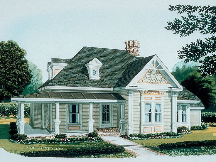 Plan 054H-0088 - Find Unique House Plans, Home Plans And for Small One Level Farmhouse Plans