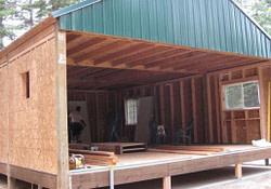 Small Pole Barn Cabins Pole Barn Plans, Small Cabin Forum with Small Pole Barn Plans