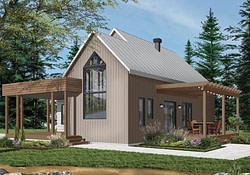Modern Style House Plan - 2 Beds 1.00 Baths 1200 Sq/Ft regarding 1200 Sq Ft Modern Farmhouse Plans