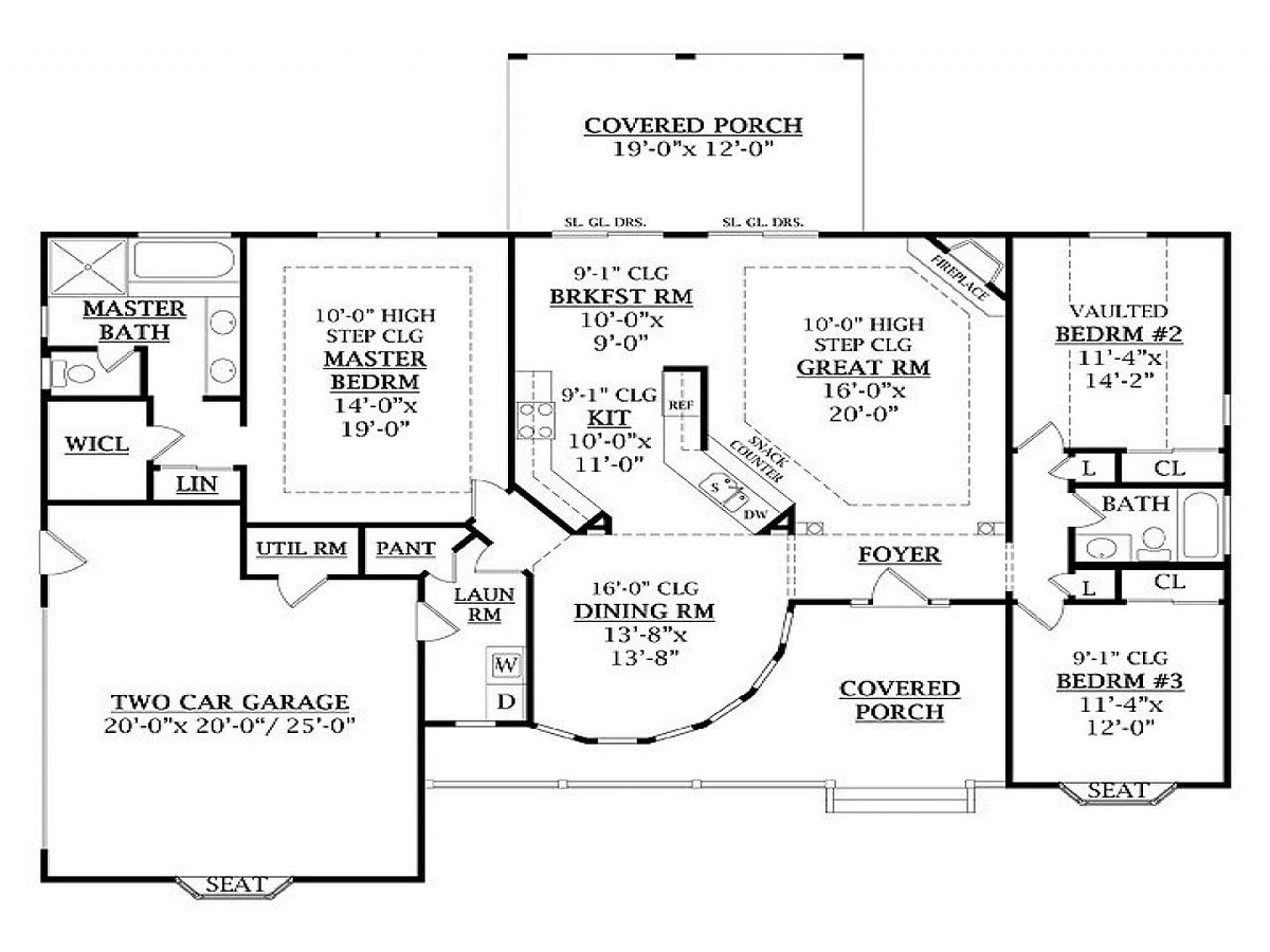 Homes Under 1800 Square Feet 1800 Square Feet Floor Plans pertaining to Modern Farmhouse Plans 1600 Sq Ft