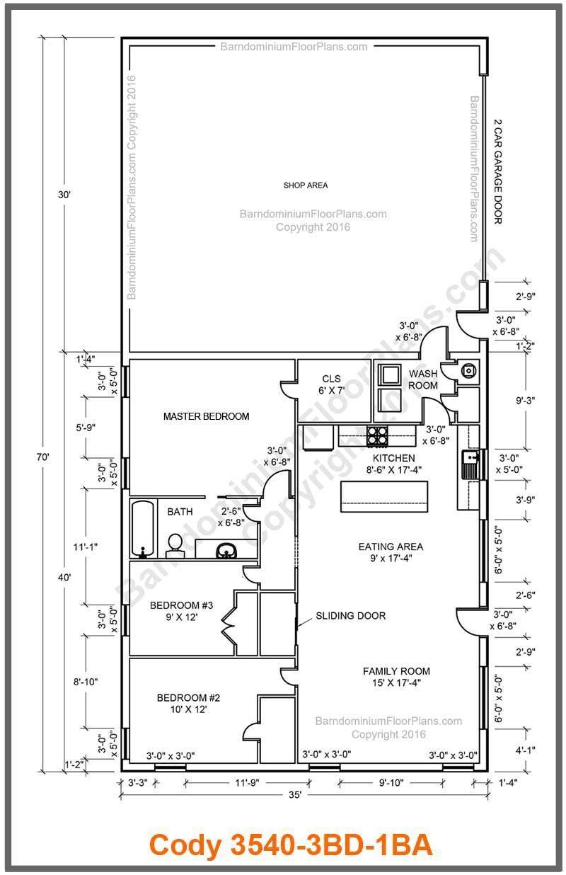 Best Barndominium Floor Plans For Planning Your in Barndominium Floor Plans 5 Bedroom