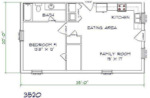 36 Best Apartment Garage Homes Images On Pinterest regarding Barndominium Floor Plans 5 Bedroom