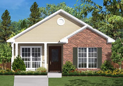 2 Bedroom, 1 Bath Bungalow House Plan - #Alp-028N for 2 Bed Small Farmhouse Plans