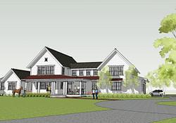 Simply Elegant Home Designs Blog: Modern Farmhouseron pertaining to Modern Farmhouse House Plan