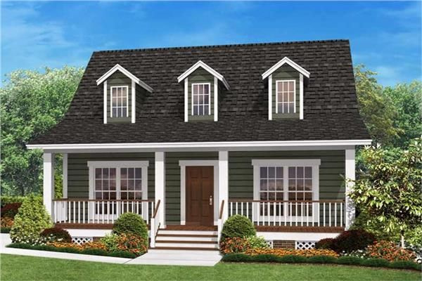 Small House Plans & Small Floor Plan Designs | Plan Collection with Small One Level Farmhouse Plans